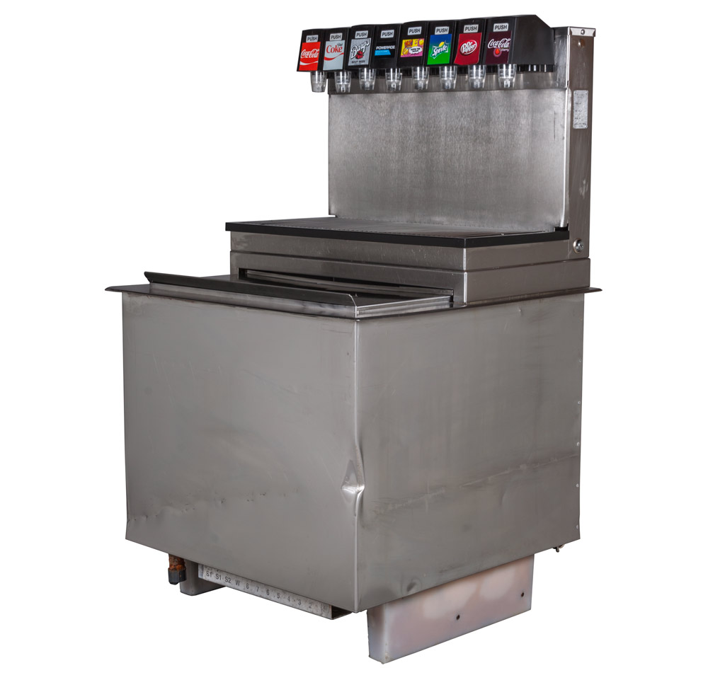 8-Flavor Drop-In Soda Fountain System