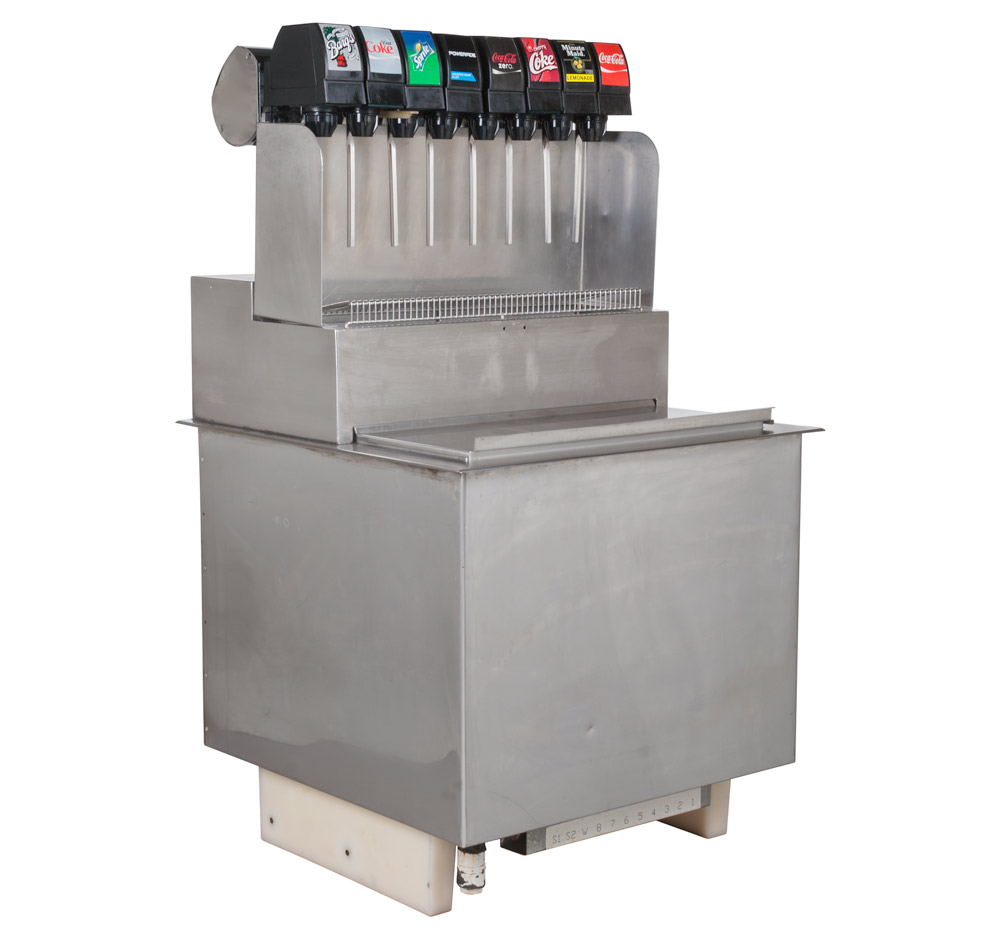 8-Flavor Drop-In Soda Fountain System