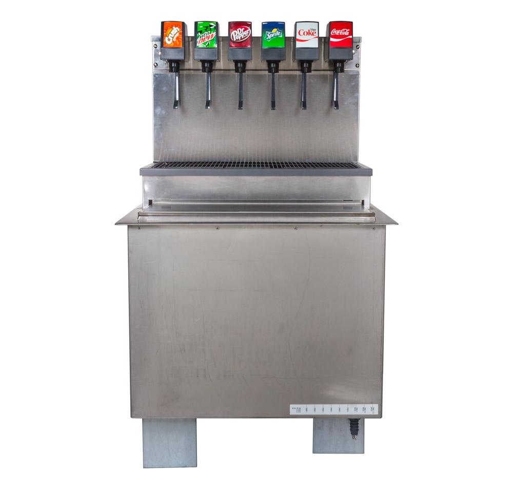 6-Flavor Drop-in Soda Fountain (front)