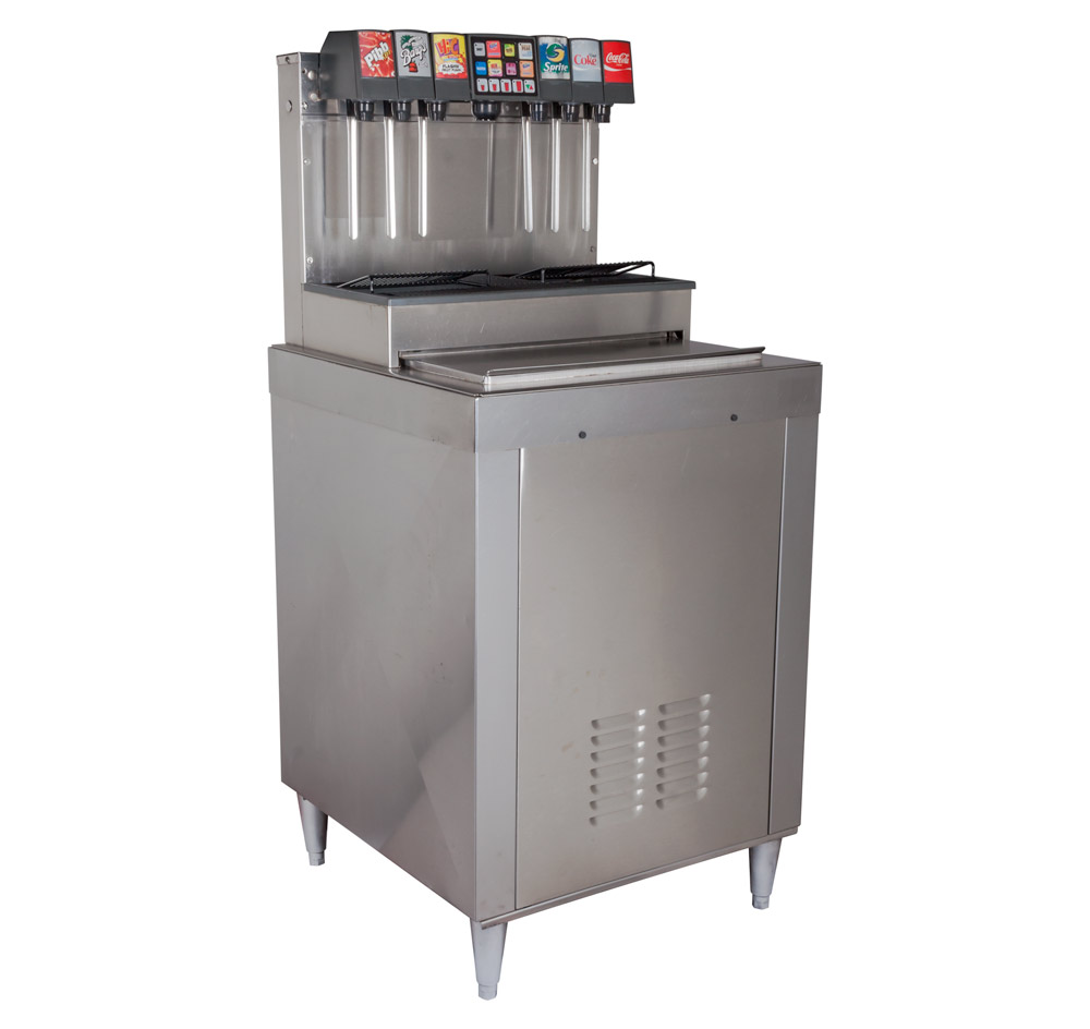 12-Flavor Drop-In Soda Fountain System