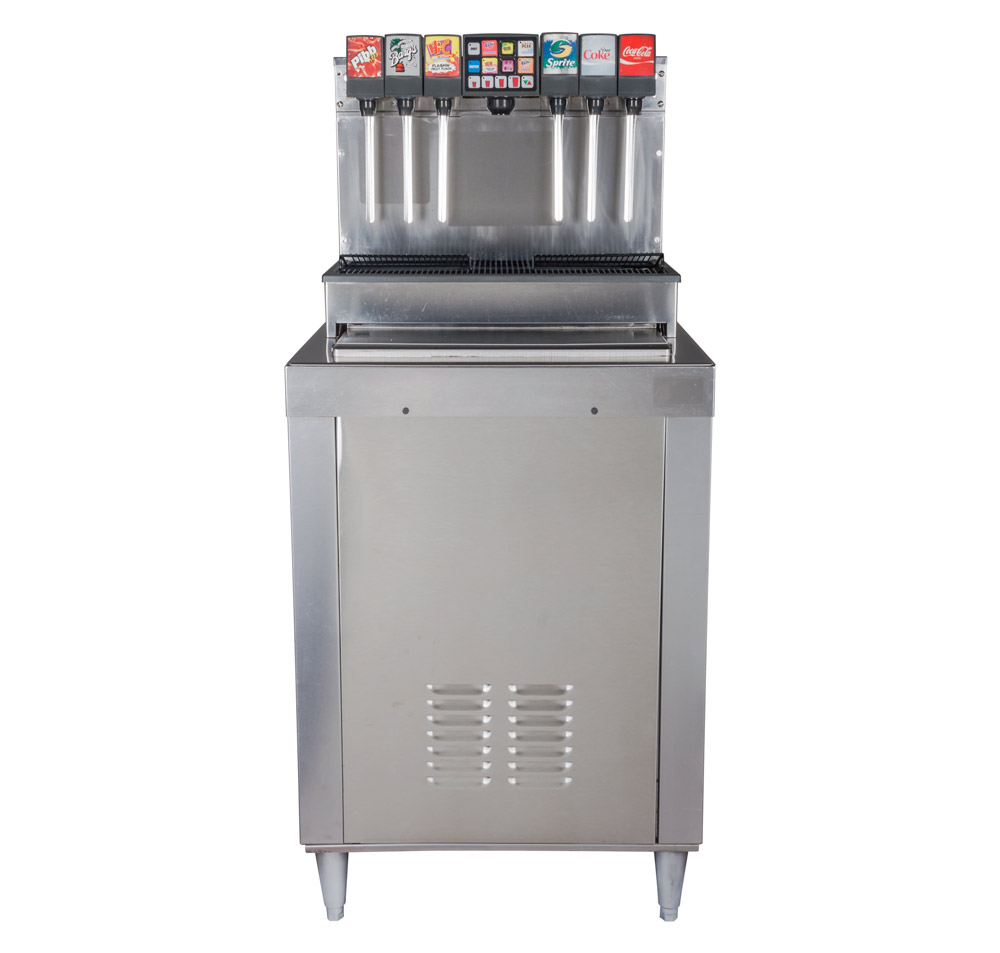 12-Flavor Drop-in Soda Fountain (front)