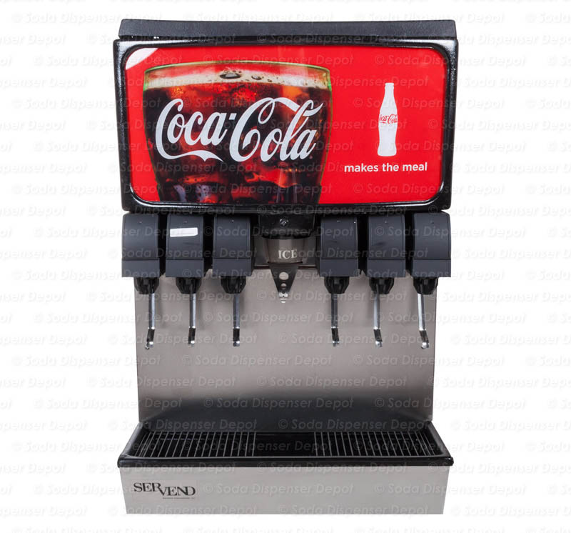 6-Flavor Ice And Beverage Soda Fountain System