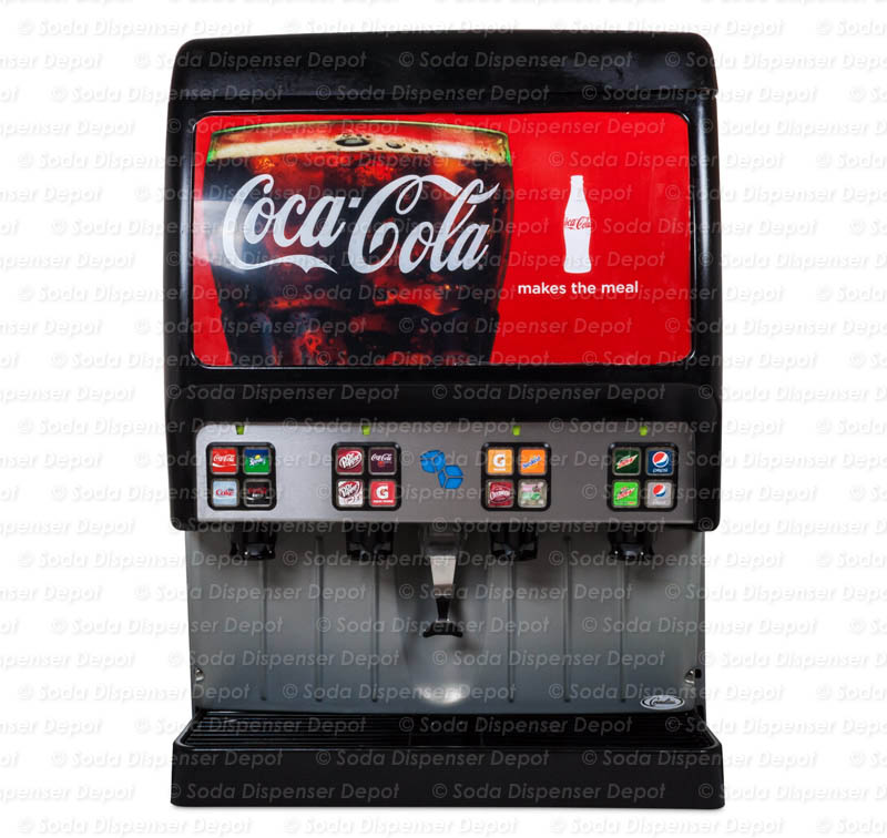 16-Flavor Ice & Beverage Soda Fountain System
