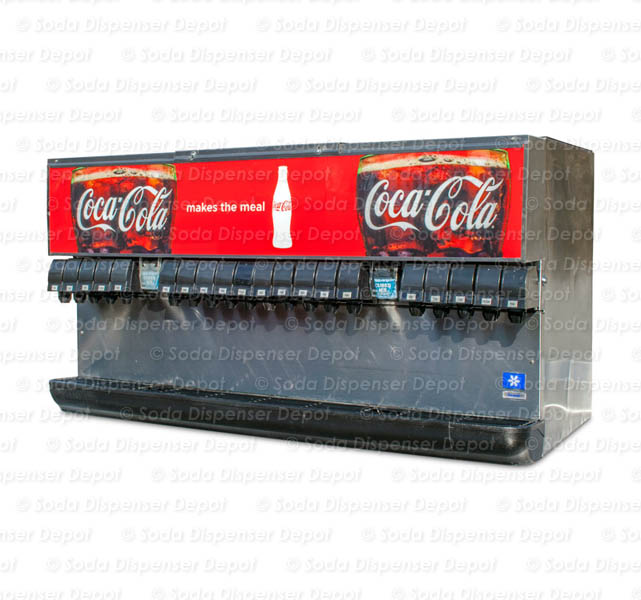 20-Flavor Ice & Beverage Soda Fountain System (front)