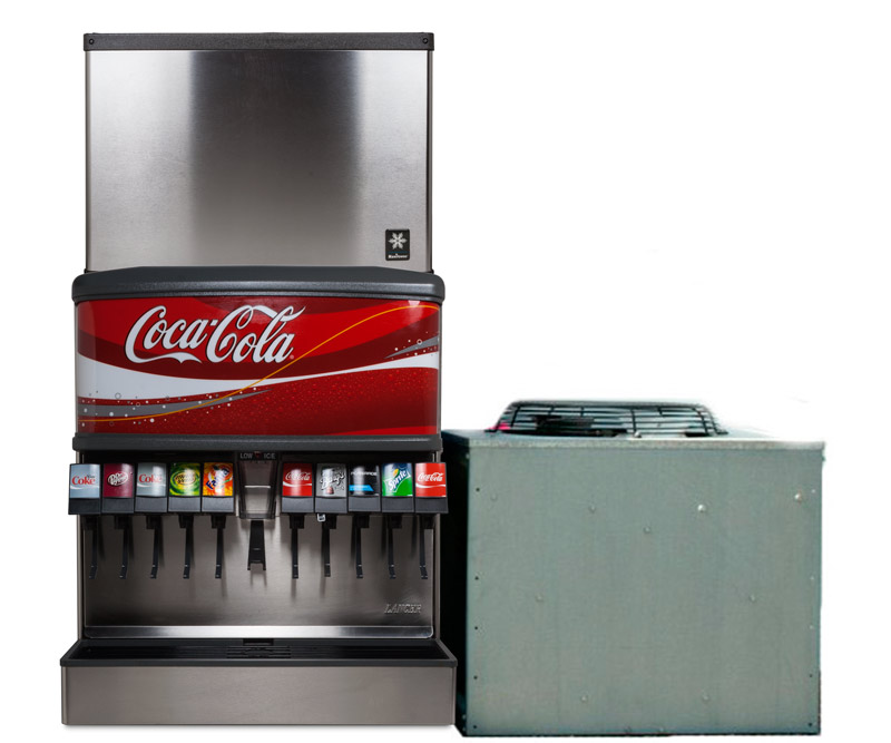 10-Flavor Ice & Beverage Soda Fountain System
