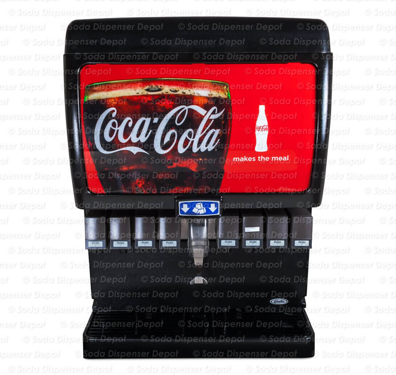 8-Flavor Ice & Beverage Soda System with Cold Carbonation