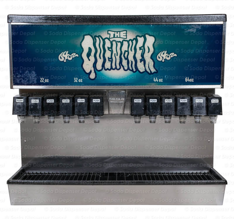 12-Flavor Ice & Beverage Soda Fountain System