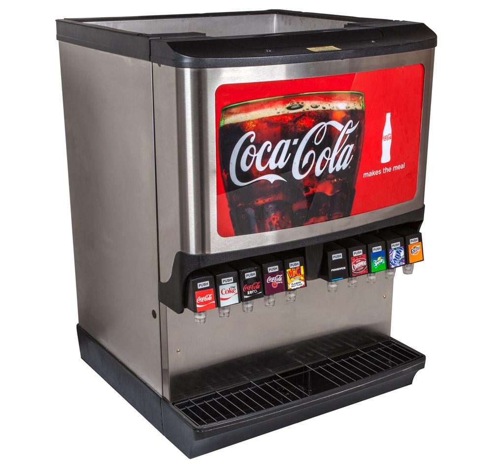 10-Flavor Ice & Beverage Soda Fountain System
