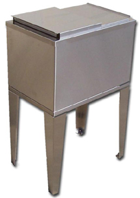 "15 x 22"" Ice Bin Cold Plate (freestanding)"