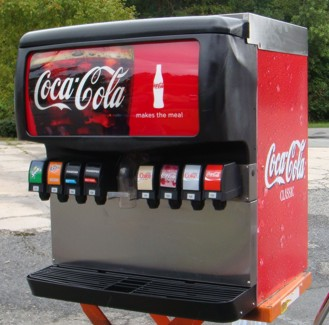 8-Flavor Ice & Beverage Soda Fountain System