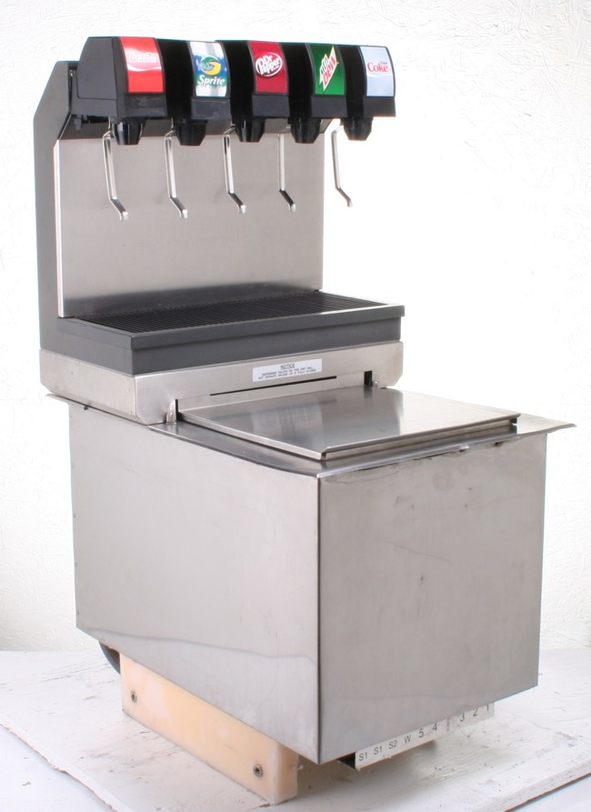 5-Flavor Drop-in Soda Fountain (front)
