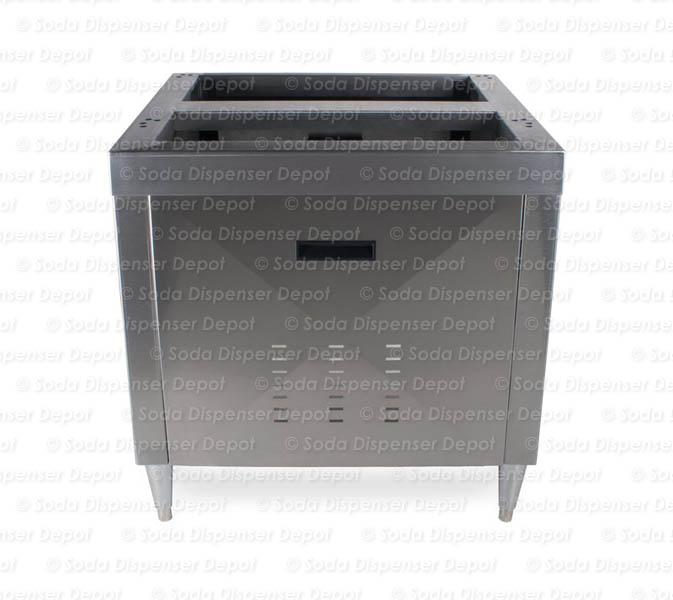 "30"" Stainless Cabinet for Ice Combo Dispenser"