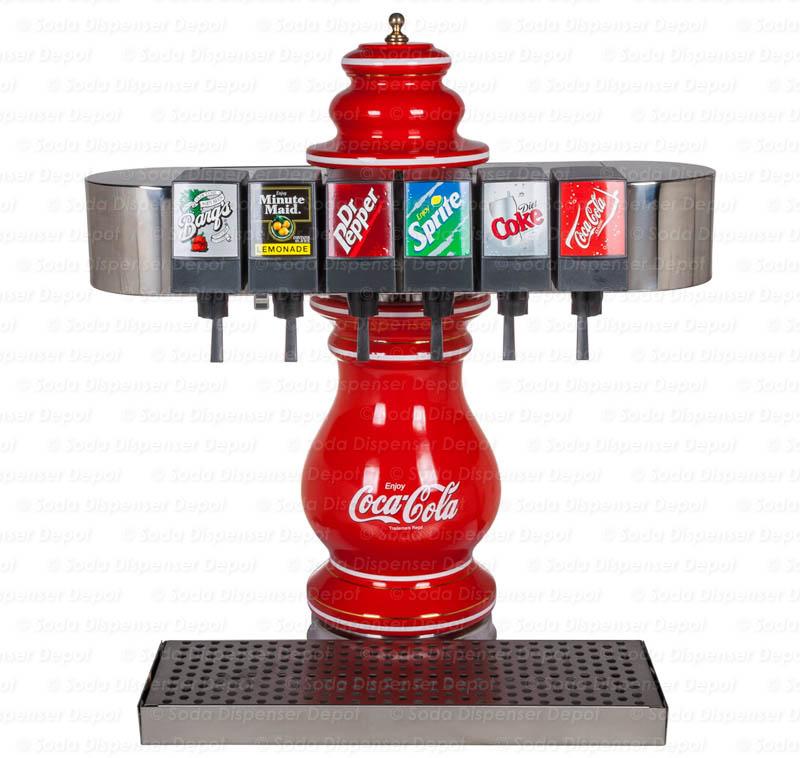coke flavor machine