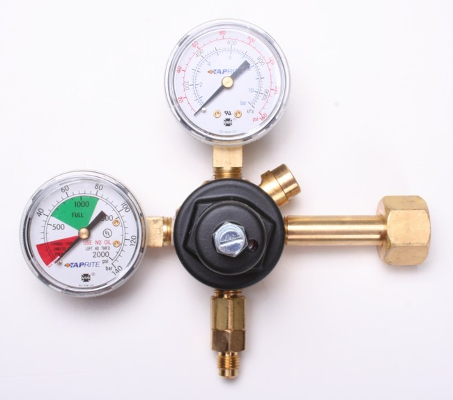 TAPRITE Dual Gauge Primary CO2 Regulator
