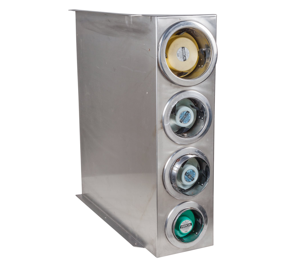 4-Tube Cup Dispenser (USED)