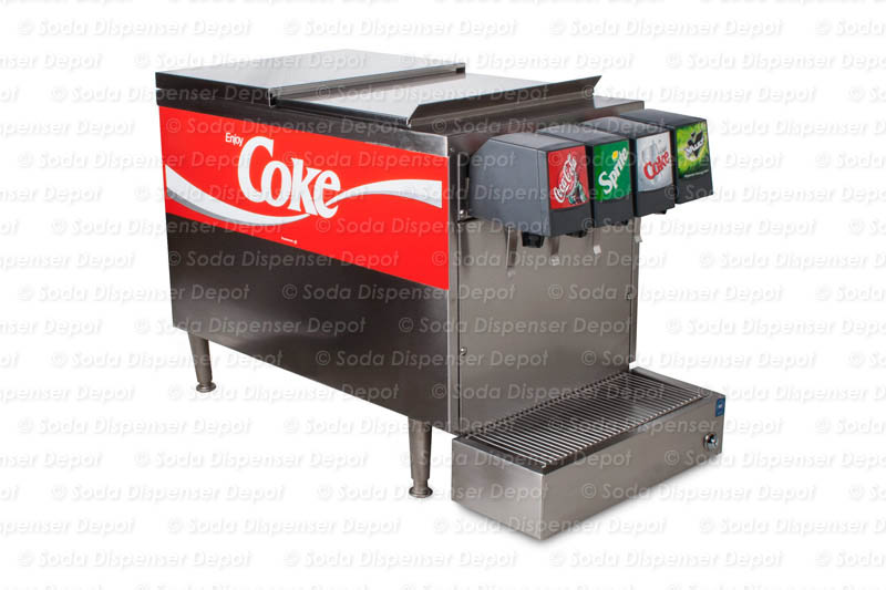 4-Flavor Counter Top Soda Fountain System