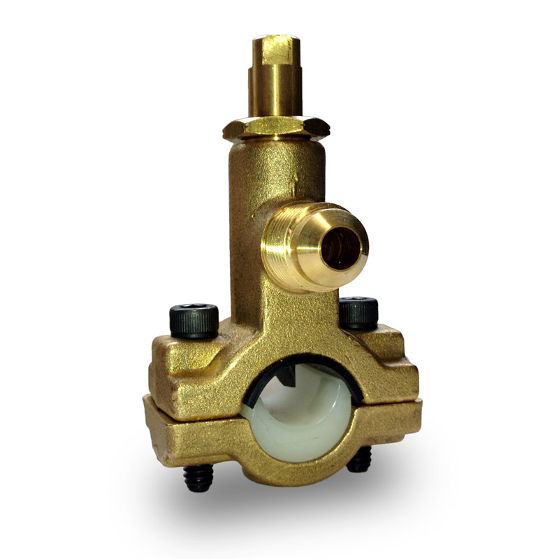 "Water Supply Saddle Valve with 3/8"" Male Flare Outlet"